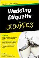 Fox, Sue - Wedding Etiquette For Dummies - 9780470502082 - KEX0280008