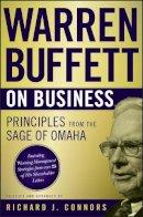 Connors, Richard J. - Warren Buffett on Business - 9780470502303 - V9780470502303