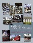 Puglisi, Luigi Prestinenza - New Directions in Contemporary Architecture - 9780470518892 - V9780470518892
