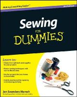 Jan Saunders Maresh - Sewing For Dummies - 9780470623206 - V9780470623206