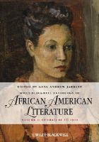 - The Wiley-Blackwell Anthology of African American Literature - 9780470657997 - V9780470657997