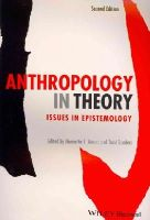Moore, Henrietta L.; Sanders, Todd - Anthropology in Theory - 9780470673355 - V9780470673355