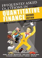 Wilmott, Paul - Frequently Asked Questions in Quantitative Finance - 9780470748756 - V9780470748756