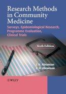 Abramson, Joseph; Abramson, Z. H. - Research Methods in Community Medicine - 9780470986615 - V9780470986615