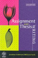 Anderson, Jonathan; Poole, Millicent E. - Assignment and Thesis Writing - 9780471421818 - V9780471421818