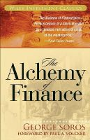 George Soros - The Alchemy of Finance (Wiley Investment Classics) - 9780471445494 - V9780471445494