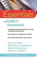 Kaufman, Alan S.; Lichtenberger, Elizabeth O.; Fletcher-Janzen, Elaine; Kaufman, Nadeen L. - Essentials of KABC II Assessment - 9780471667339 - V9780471667339