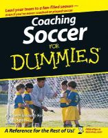 The National Alliance for Youth Sports; Bach, Greg - Coaching Soccer For Dummies - 9780471773818 - V9780471773818