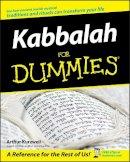 Kurzweil, Arthur - Kabbalah For Dummies - 9780471915904 - V9780471915904