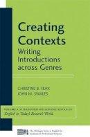 Feak, Christine B.; Swales, John M. - Creating Contexts - 9780472034567 - V9780472034567