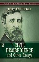 Henry David Thoreau - Civil Disobedience and Other Essays (Dover Thrift Editions) - 9780486275635 - V9780486275635