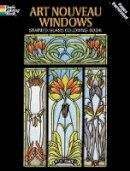 Smith, A. G. - Art Nouveau Windows Stained Glass Coloring Book - 9780486277103 - V9780486277103