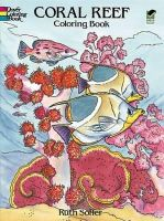 Soffer, Ruth - Coral Reef Coloring Book - 9780486285429 - V9780486285429