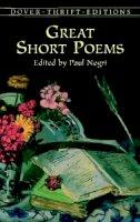 - Great Short Poems - 9780486411057 - V9780486411057