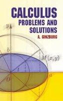 Ginzburg, A. - Calculus - 9780486432779 - V9780486432779