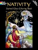 Noble, Marty - Nativity Stained Glass Coloring Book - 9780486435275 - V9780486435275