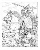 Green, John - Kings and Queens of England Coloring Book - 9780486446660 - V9780486446663