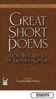 - Great Short Poems from Antiquity to the Twentieth Century (Dover Thrift Editions) - 9780486478760 - V9780486478760