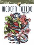 Siuda, Erik; Creative Haven - Creative Haven Modern Tattoo Designs Coloring Book - 9780486493268 - V9780486493268