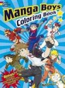 Schmitz, Mark - Manga Boys Coloring Book - 9780486497105 - V9780486497105