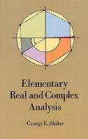 Shilov, Georgi E. - Elementary Real and Complex Analysis - 9780486689227 - V9780486689227