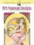Mucha, Alphonse Marie; Sibbett, Ed, Jr. - Creative Haven Art Nouveau Designs Coloring Book - 9780486781891 - V9780486781891