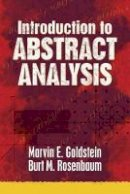 Goldstein, Marvin E., Rosenbaum, Burt M. - Introduction to Abstract Analysis (Dover Books on Mathematics) - 9780486789460 - V9780486789460