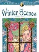 Noble, Marty - Creative Haven Winter Scenes Coloring Book (Creative Haven Coloring Books) - 9780486791906 - V9780486791906
