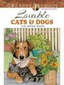 Soffer, Ruth - Creative Haven Lovable Cats and Dogs Coloring Book (Adult Coloring) - 9780486804453 - V9780486804453