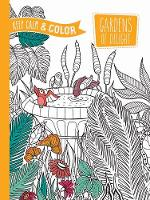 Zottino, Marica - Keep Calm and Color -- Gardens of Delight Coloring Book (Adult Coloring) - 9780486804668 - V9780486804668