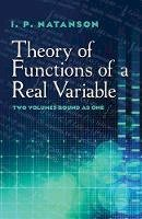 Natanson, I.P. - Theory of Functions of a Real Variable (Dover Books on Mathematics) - 9780486806433 - V9780486806433