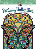 Noble, Marty - Creative Haven Fantasy Butterflies Coloring Book (Adult Coloring) - 9780486807812 - V9780486807812