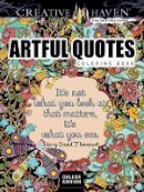 Boylan, Lindsey - Creative Haven Artful Quotes Coloring Book - 9780486808857 - V9780486808857