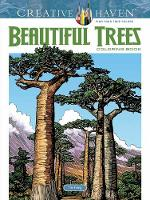 Foley, Tim - Creative Haven Beautiful Trees Coloring Book (Adult Coloring) - 9780486815404 - V9780486815404