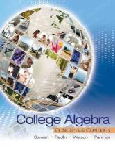 Stewart, James, Redlin, Lothar, Watson, Saleem, Panman, Phyllis - College Algebra: Concepts and Contexts - 9780495387893 - V9780495387893