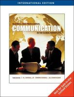 H. Goodall, Jr. - Business and Professional Communication in the Global Workplace, International Edition - 9780495567400 - V9780495567400