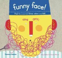 Bahbout, Jacky, Warren, Hannah - Funny Face!: Find the surprises! Draw, color and fold! - 9780500650363 - V9780500650363