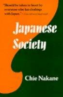 Nakane - Japanese Society (Center for Japanese Studies, UC Berkeley) - 9780520021549 - V9780520021549
