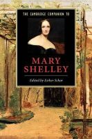 - The Cambridge Companion to Mary Shelley (Cambridge Companions to Literature) - 9780521007702 - V9780521007702