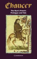 Geoffrey Chaucer - The Nun's Priest's Prologue and Tale (Selected Tales from Chaucer) - 9780521046268 - KON0832841