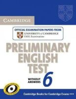 Cambridge ESOL - Cambridge Preliminary English Test 6 Student's Book without Answers - 9780521123167 - V9780521123167