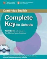 Elliott, Sue, Heyderman, Emma - Complete Key for Schools Workbook with Answers with Audio CD - 9780521124393 - V9780521124393
