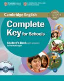 McKeegan, David - Complete Key for Schools Student's Book with Answers with CD-ROM - 9780521124713 - V9780521124713
