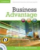 Handford, Michael, Lisboa, Martin, Koester, Almut, Pitt, Angela - Business Advantage Upper-intermediate Student's Book with DVD - 9780521132176 - V9780521132176