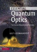 Leonhardt, Ulf - Essential Quantum Optics - 9780521145053 - V9780521145053