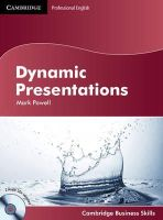 Powell, Mark - Dynamic Presentations Student's Book with Audio CDs (2) (Cambridge Business Skills) - 9780521150040 - V9780521150040