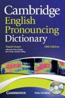 Jones, Daniel - Cambridge English Pronouncing Dictionary with CD-ROM - 9780521152556 - V9780521152556