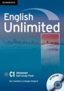 Goldstein, Ben, Baigent, Maggie - English Unlimited Advanced Self-study Pack (Workbook with DVD-ROM) - 9780521169738 - V9780521169738
