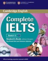 Brook-Hart, Guy, Jakeman, Vanessa - Complete IELTS Bands 4-5 Student's Book without Answers with CD-ROM - 9780521179577 - V9780521179577