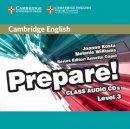 Kosta, Joanna, Williams, Melanie - Cambridge English Prepare! Level 3 Class Audio CDs (2) - 9780521180573 - V9780521180573